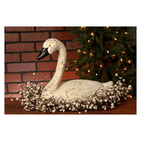 Feathered Friends Large Goose Figurine