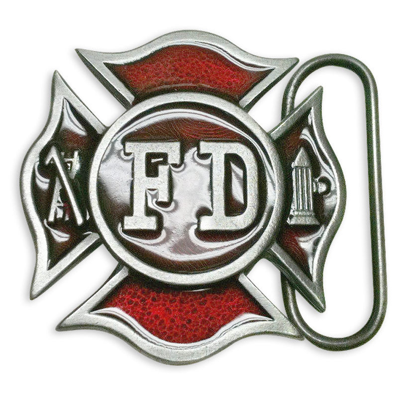 Fire Department Belt Buckle M-96