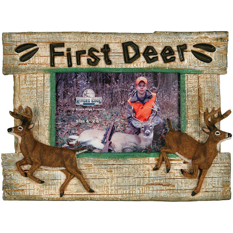 First Deer Hunting 4x6 Photo Frame 512