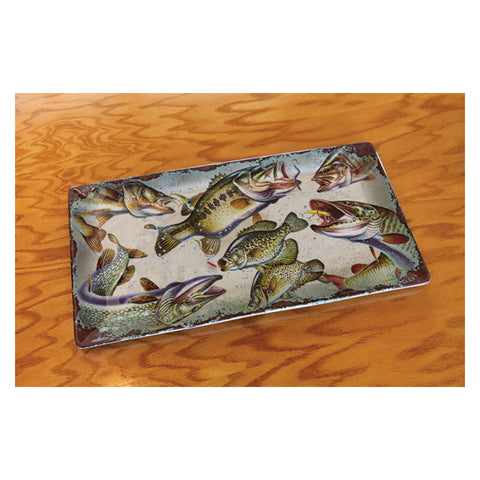 Fish Rectangle Serving Tray