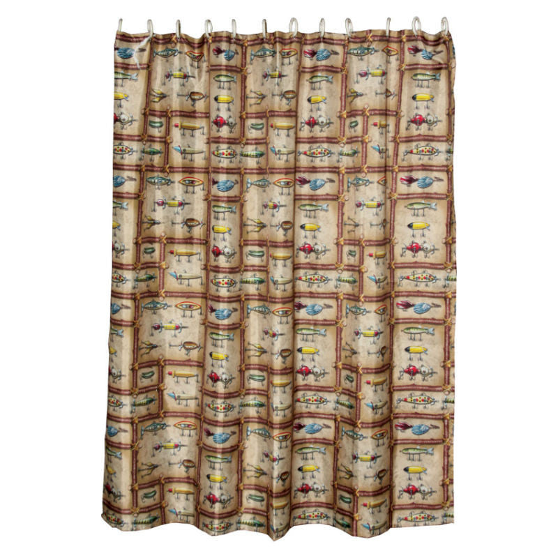 Fishing Lures Shower Curtain 760