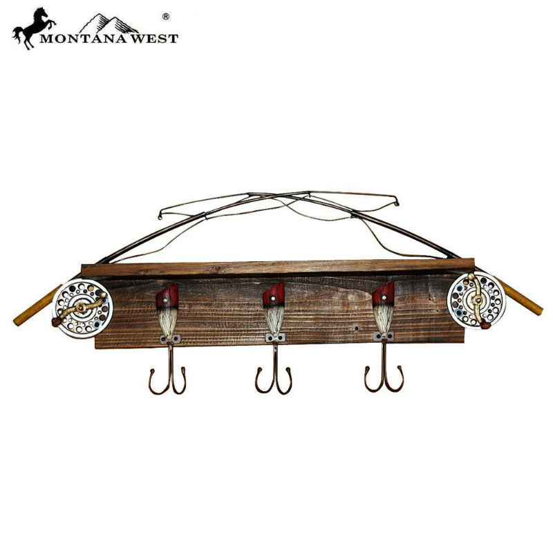 Fishing Rod Coat Rack RSM-1979