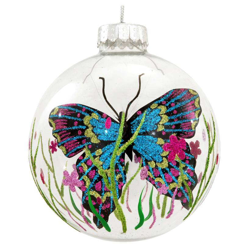 Free Floating Butterfly Glass Ornament 1168339
