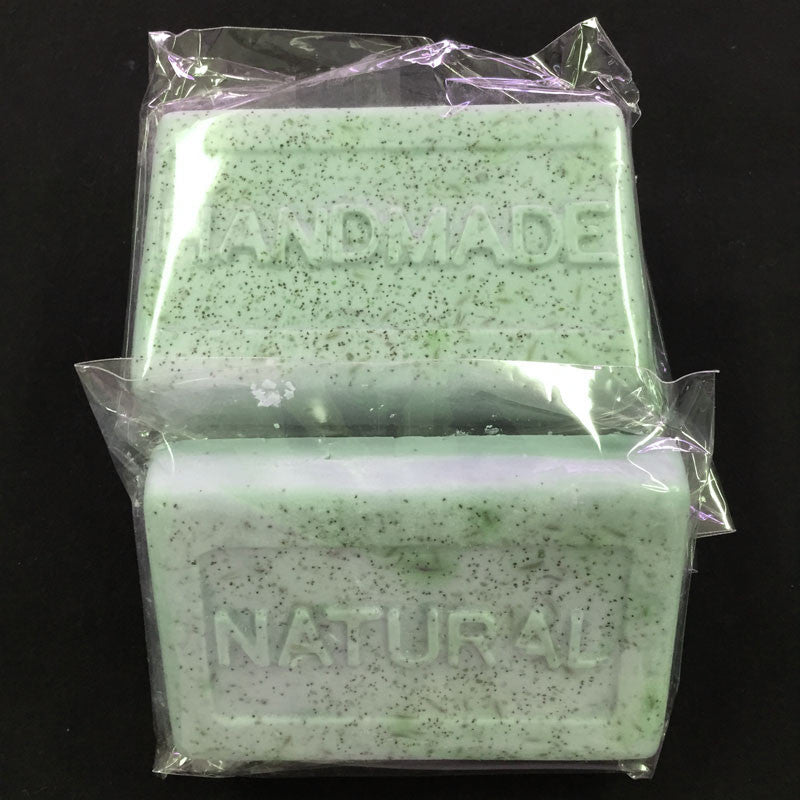 Fresh Herbal with Lavender & Apricot Seed Exfoliant Soap LL103