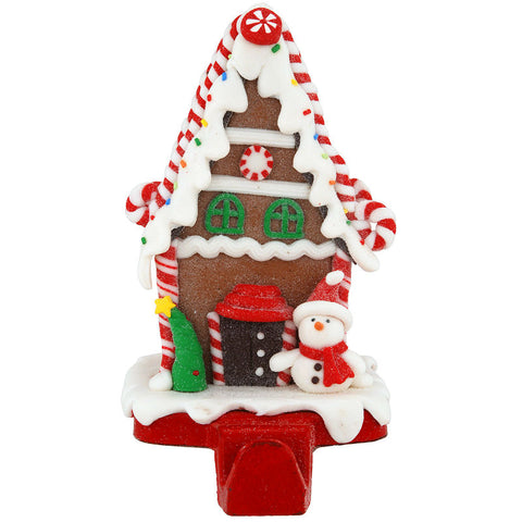 Gingerbread Candy House Stocking Holder