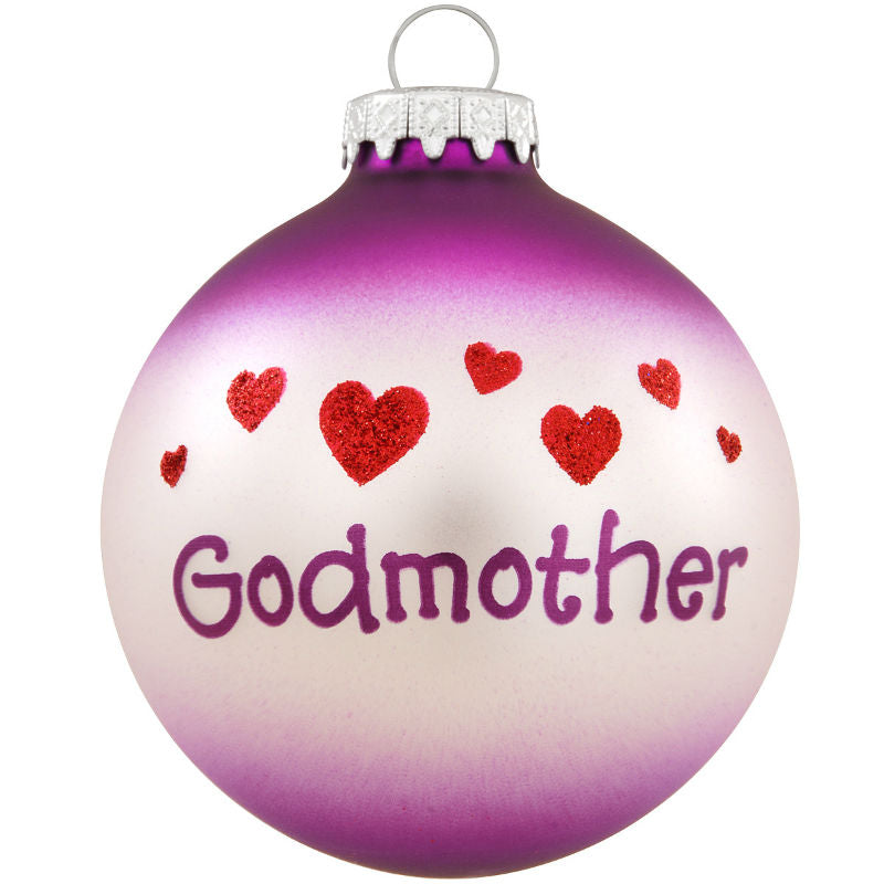 Godmother Glass Ornament 1175483