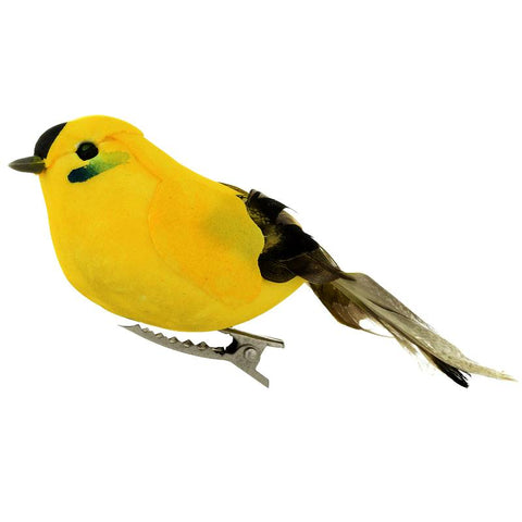 Goldfinch Clip On Bird Ornaments
