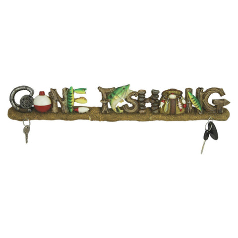 Gone Fishing Key Rack