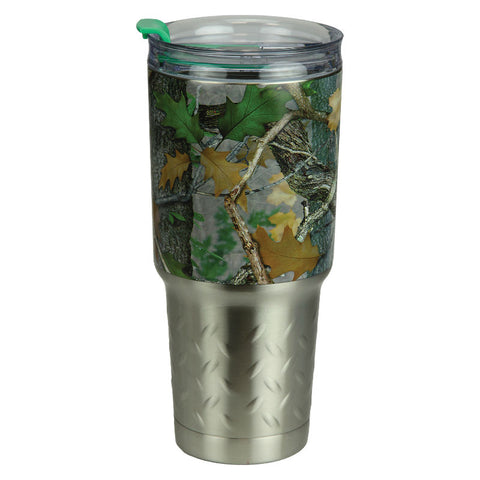 Green Camo 32 Oz Stainless Steel Tumbler