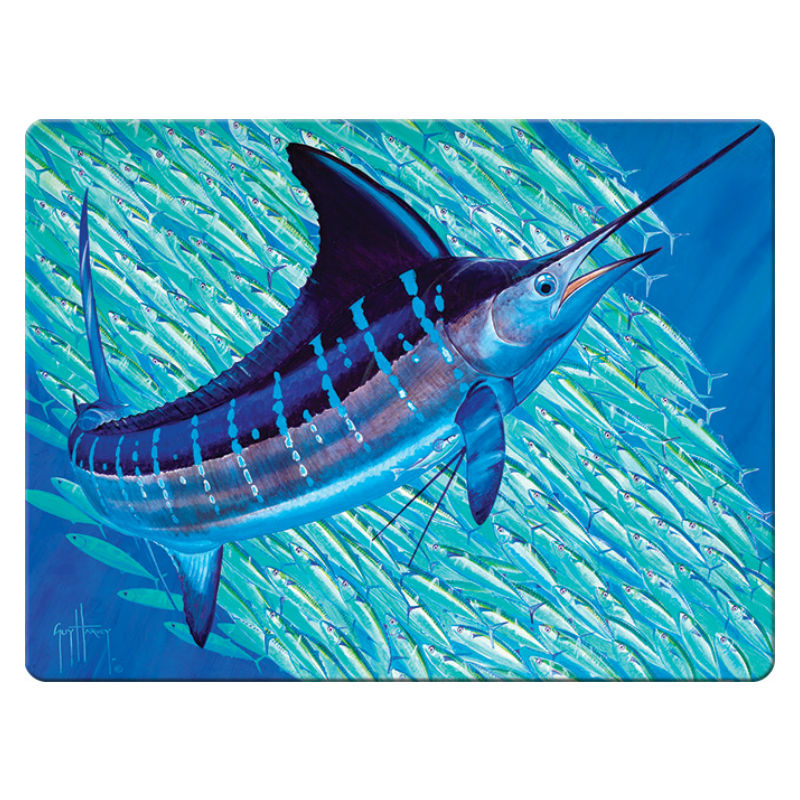 Guy Harvey Blue Marlin Cutting Board 1242