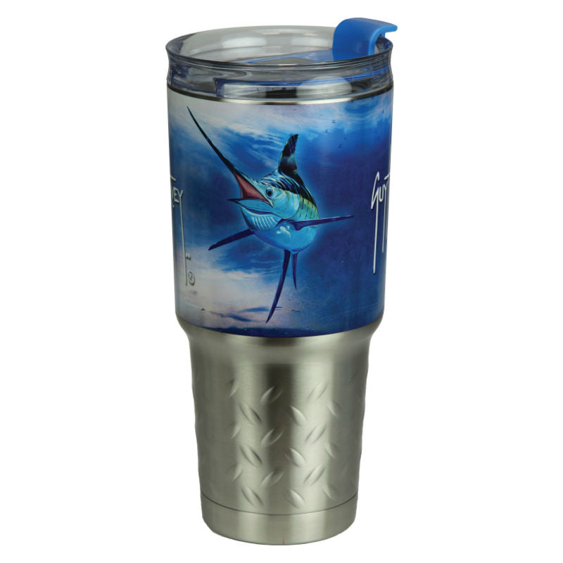 Guy Harvey Marlin Fish 32 Oz Stainless Steel Tumbler 2144