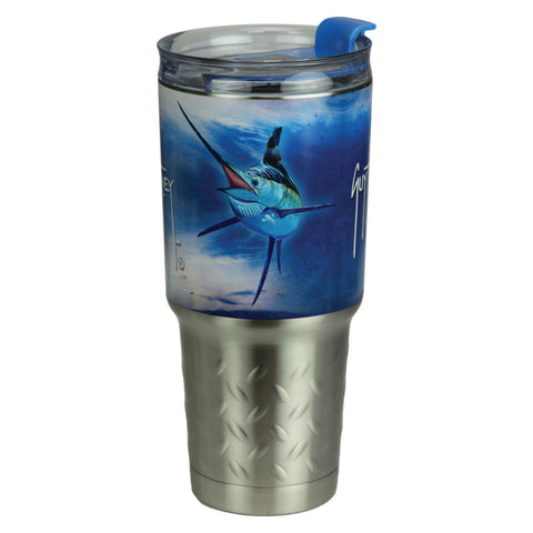 Guy Harvey Marlin Fish 32 Oz Stainless Steel Tumbler
