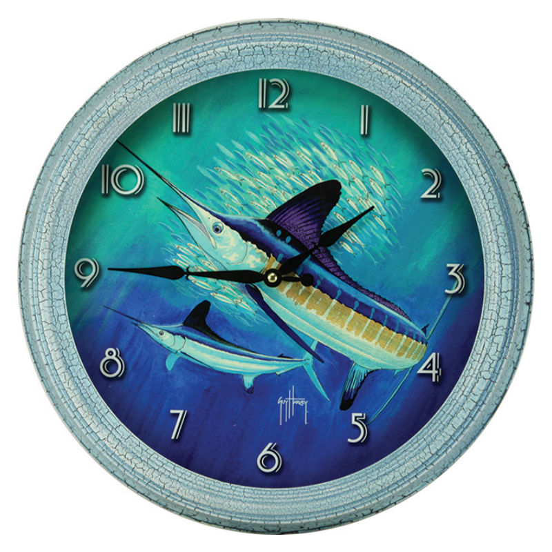 Guy Harvey Marlin Fishing Wall Clock 1017