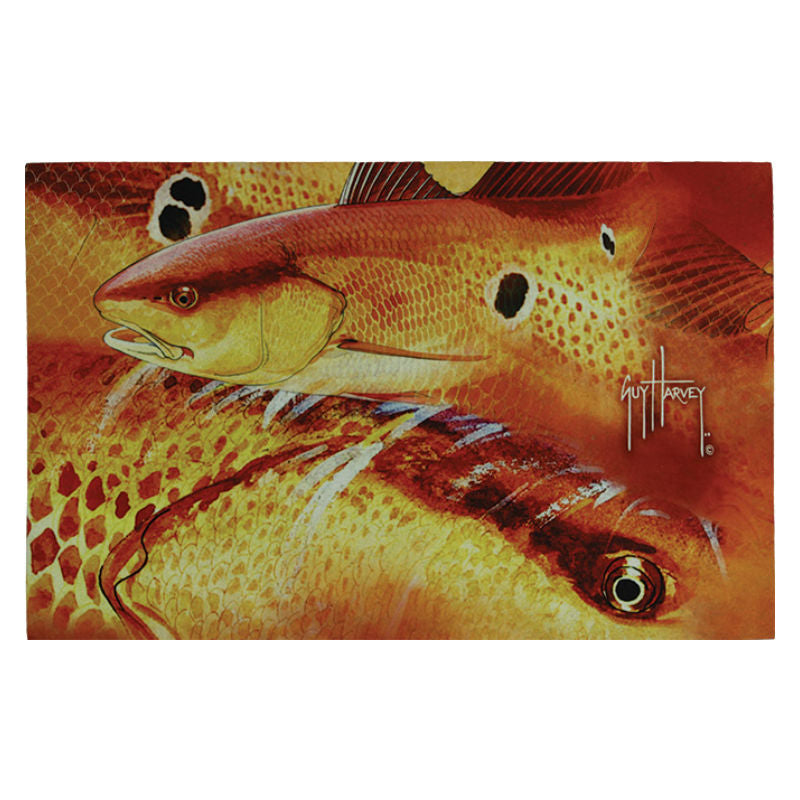 Guy Harvey Redfish Door Mat 2520