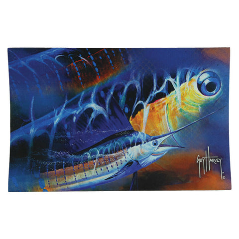 Guy Harvey Sailfish Door Mat