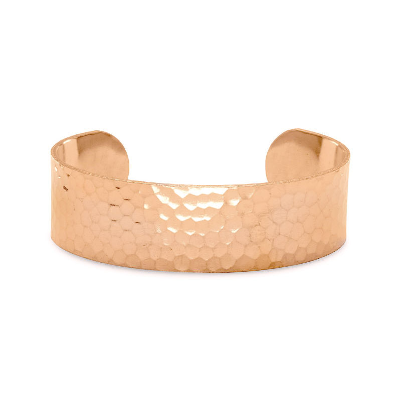 Hammered Solid Copper Cuff Bracelet 22842