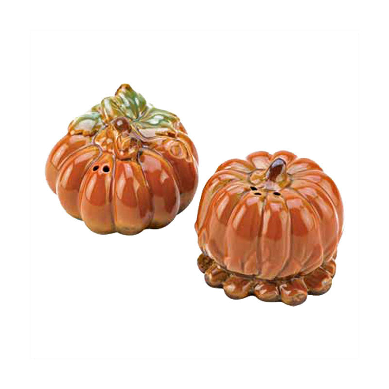 Harvest Pumpkin Salt & Pepper Shakers 14520