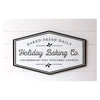 Holly Berry Holiday Baking Co. Metal Sign 7T1821