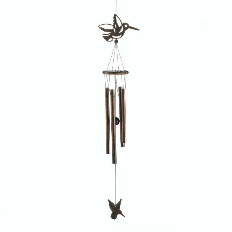 Hummingbird Silhouette Wind Chimes 10017702