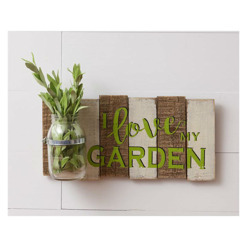 I Love My Garden Wall Planter 51GR1634