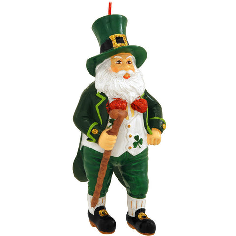 Irish Santa Claus Ornament