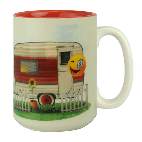 It's All Good In The Trailer Hood Ceramic Beverage Mug