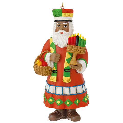 Kwanzaa Santa Claus Ornament