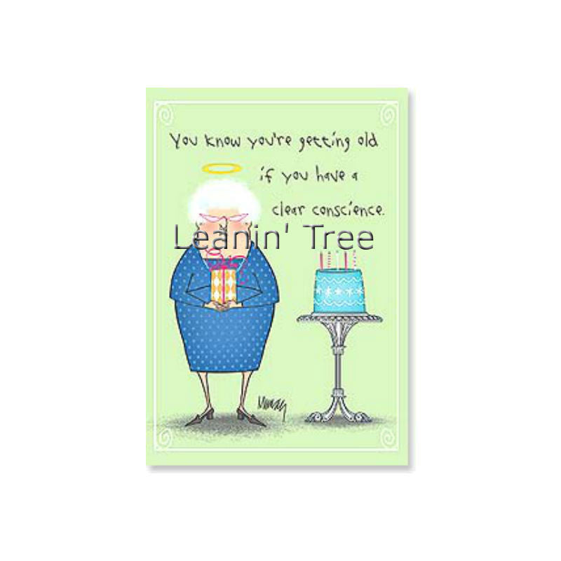 Leanin Tree A Sure Sign Of Memory Loss Birthday Card 48514