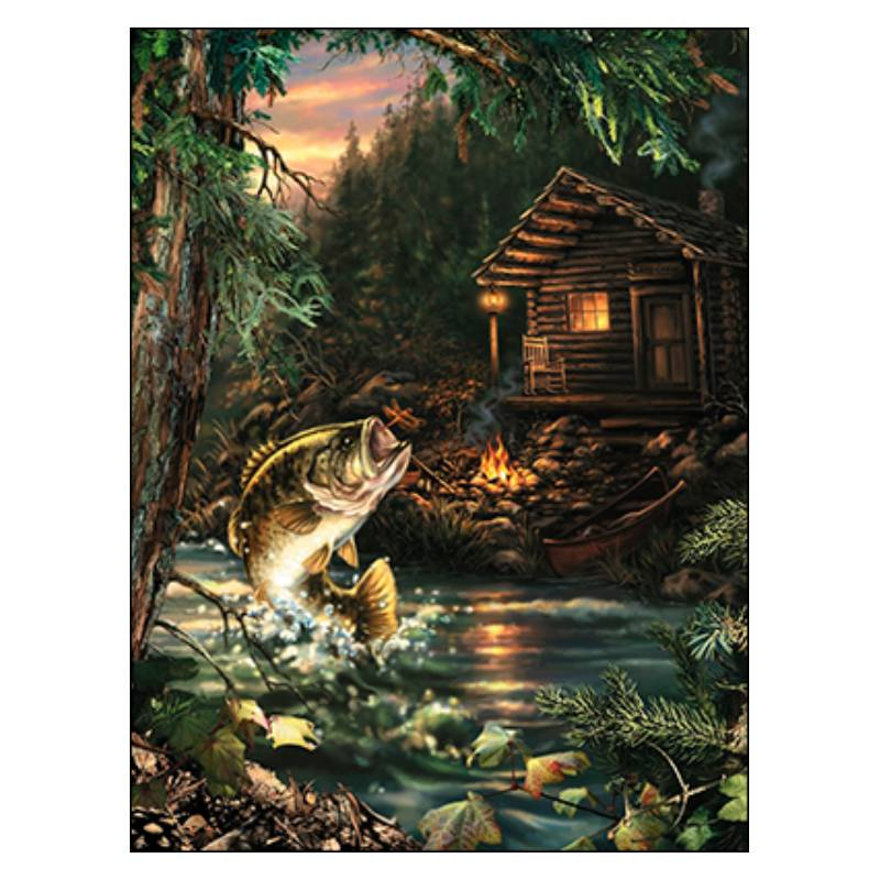 Leanin' Tree Fishing Tales To Tell Birthday Card 14633