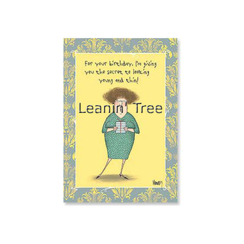 Greeting cards and gifts baubles n bling leanin tree hang around with old fat people birthday card m4hsunfo