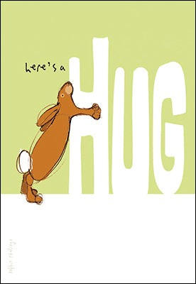 Leanin' Tree Here's A Hug Encouragement & Support Card