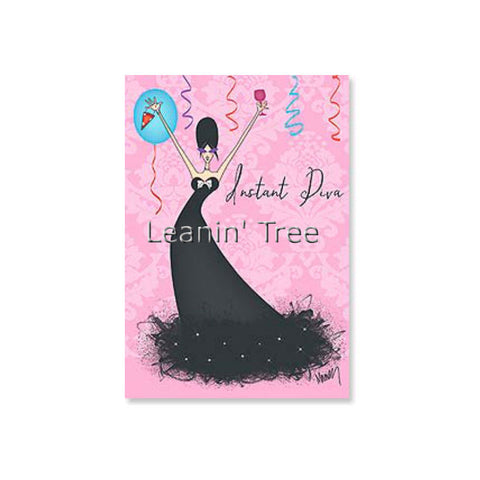 Leanin' Tree Just Add Wine Birthday Card