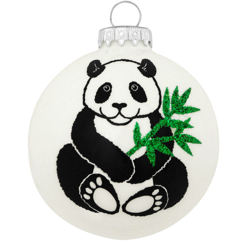Legend of the Panda Glass Ornament 1152887