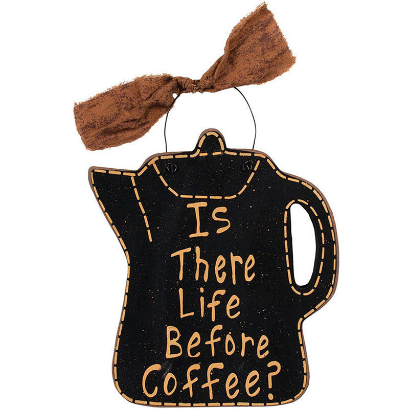 Is There Life Before Coffee? Plaque 34962