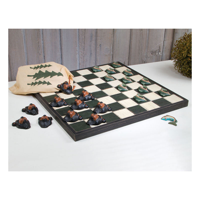Lodge Checkers Game Board 39332