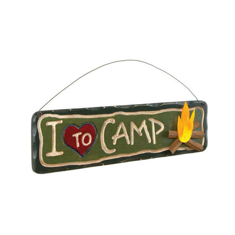 Love To Camp Sign
