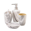 Marble Look Bath Accessory Set 10018749