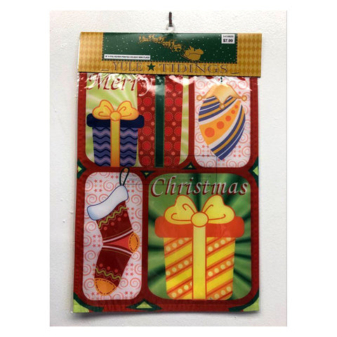 Merry Christmas Gifts Mini Holiday Garden Flag