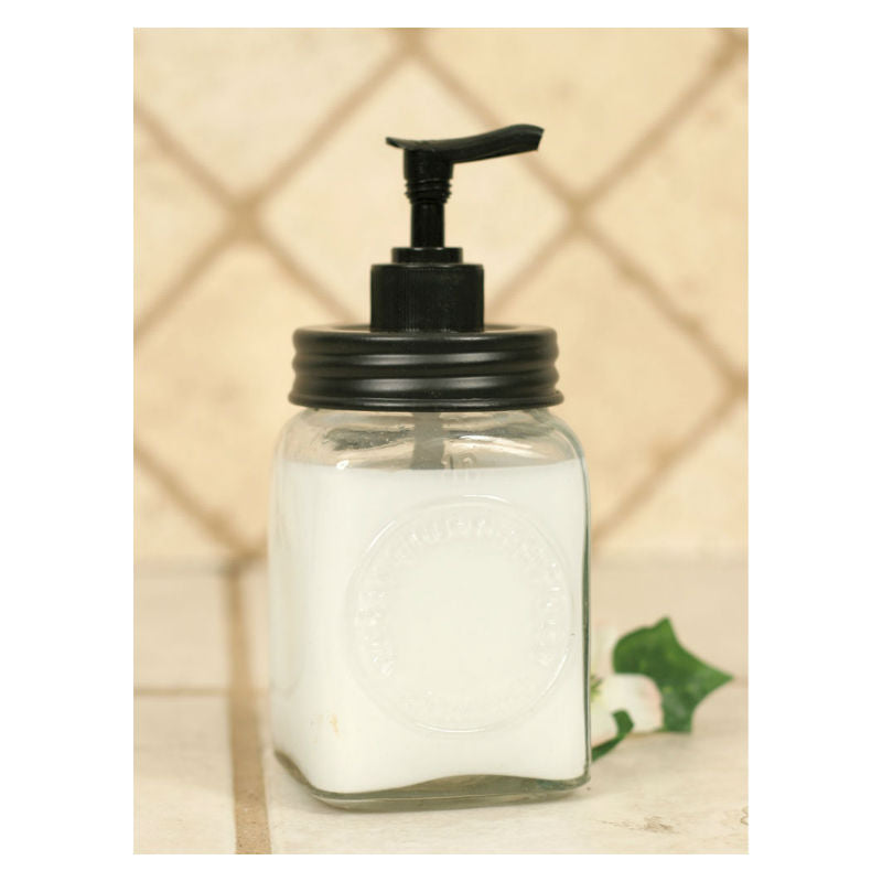 Mini Dazey Butter Churn Jar Soap Dispenser 360115D
