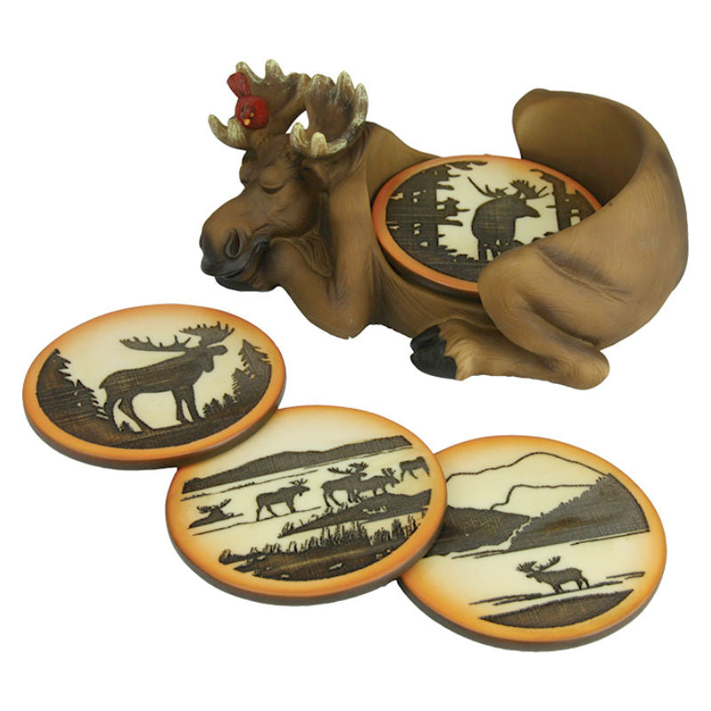 Moose Coaster Set 2043