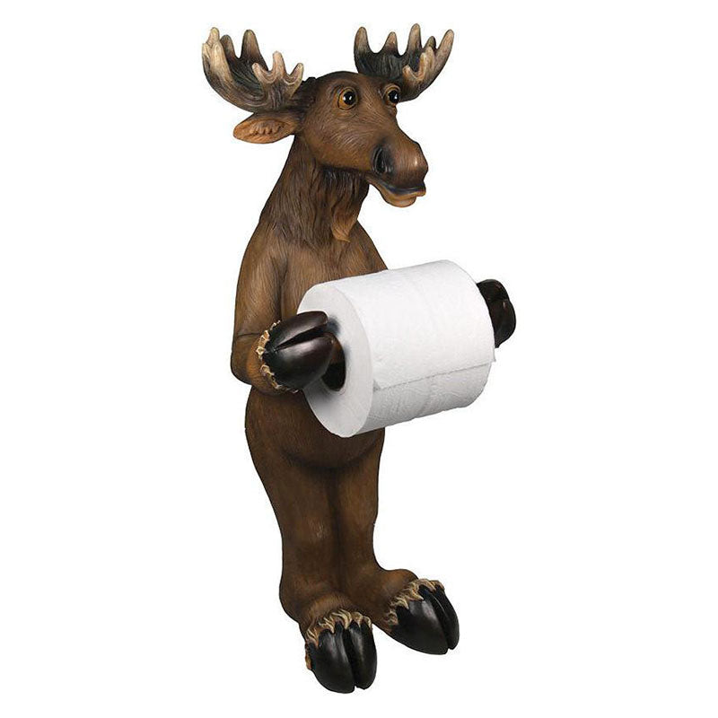 Moose Standing Toilet Tissue Holder 805