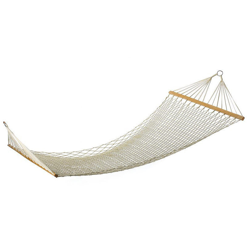 Natural Cotton Crocheted Hammock 33024