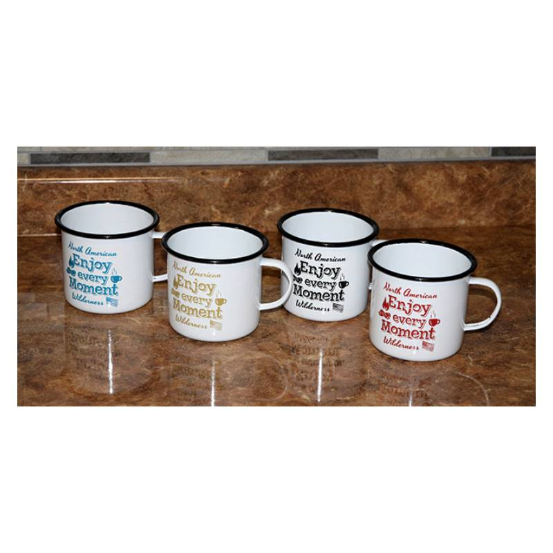 North American Wilderness Porcelain Coffee Mugs 2104