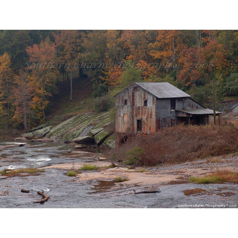 Old Anderson Grist Mill Print