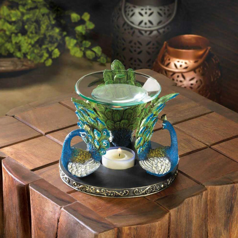 Peacock Plume Oil Warmer 10017518