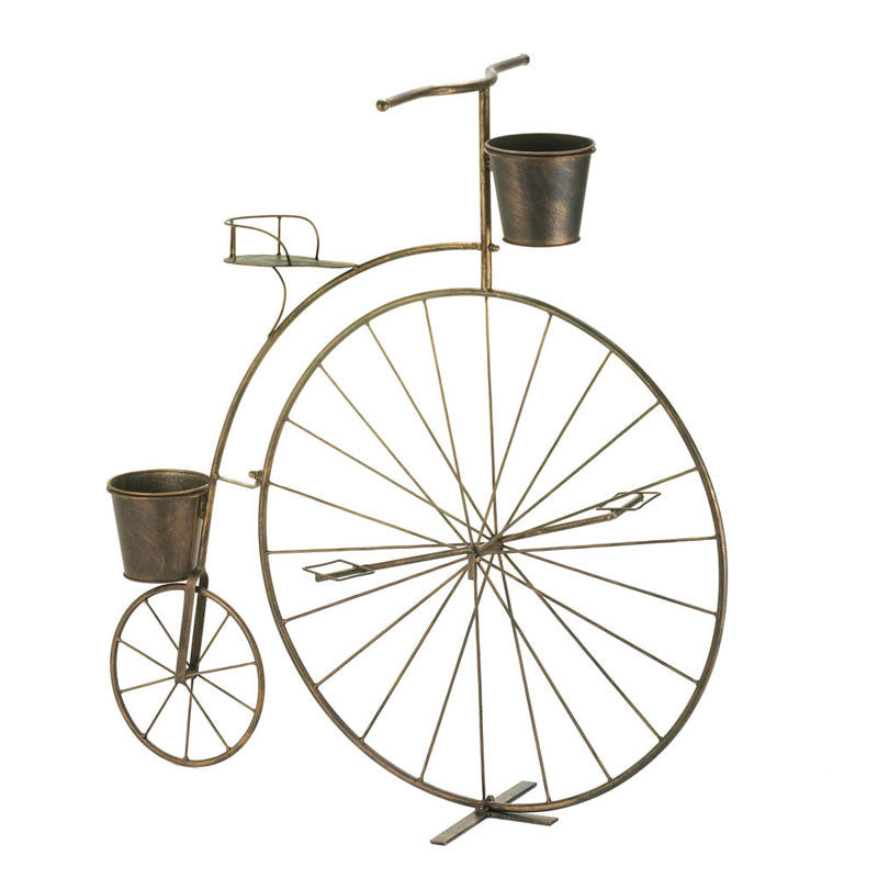 Penny Farthing Bicycle Plant Stand 10016041 Baubles N Bling