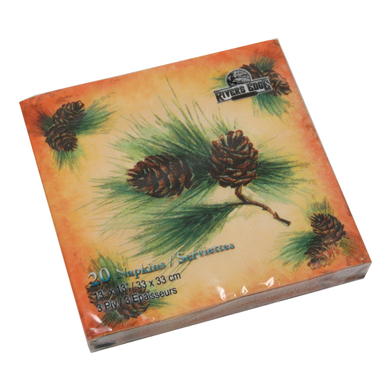 Pine Cone Paper Dinner Napkins 628