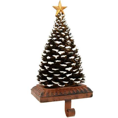 Pine Cone Stocking Holder