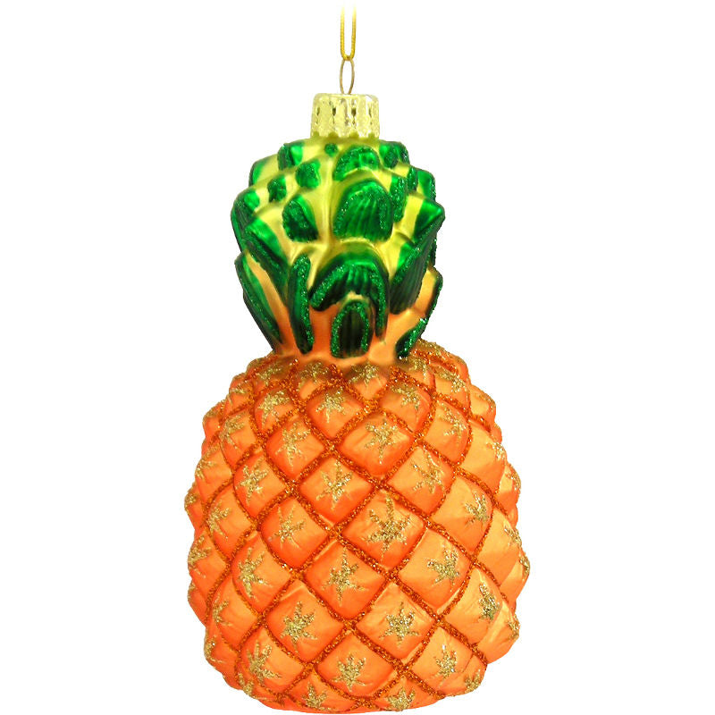 Pineapple Glass Ornament 1140394