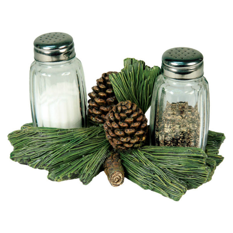 Pinecone Branch Salt & Pepper Shakers 547
